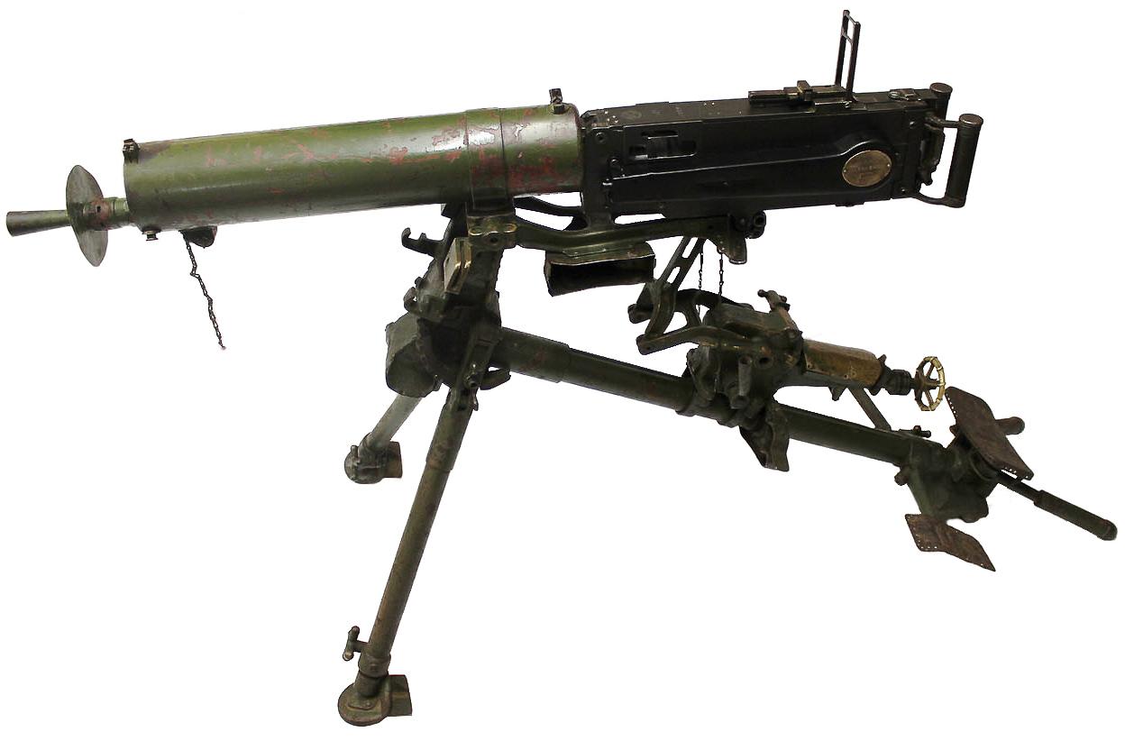 Пулемёт MG 08 на треножном станке