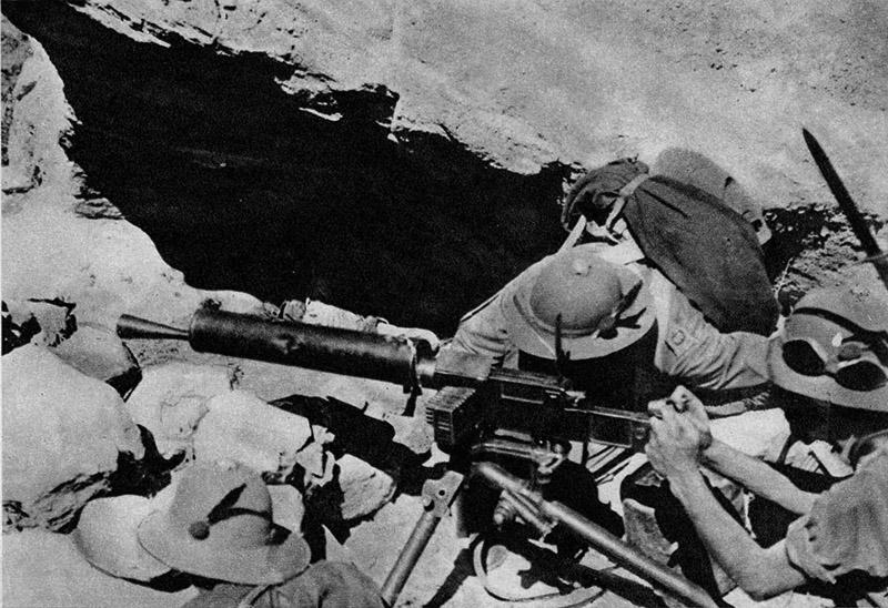 Итальянские солдаты в северной Африке