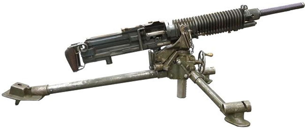 Cтанковый пулемёт Тип 3, вид справа