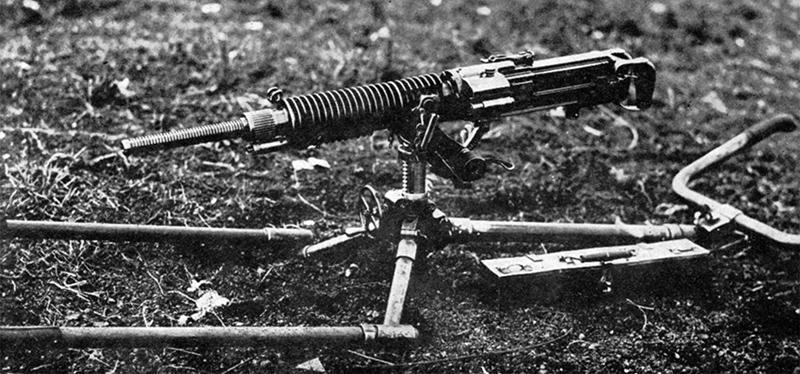 Пулемёта Тип 3 в положении для транспортировки