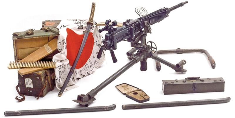 Пулемёта Тип 92 с принадлежностями