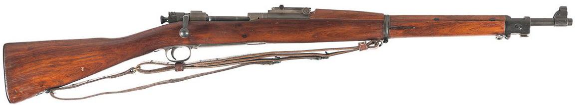 Винтовка M1903 Mark 1 с устройством Педерсена