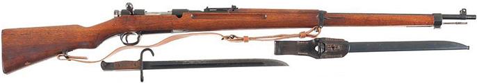 6,5 мм снайперская винтовка Тип 97 c чехлом для прицела