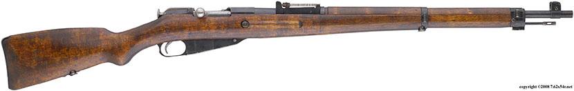 Финский карабин M39 с пистолетной шейкой приклада.
