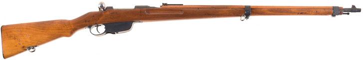 Устройство затвора винтовки Mannlicher M1895