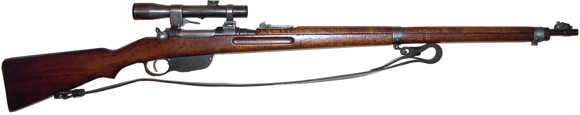 Снайперская винтовка Mannlicher M1895