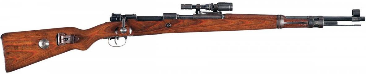 Mauser Kar.98k с прицелом ZF 41