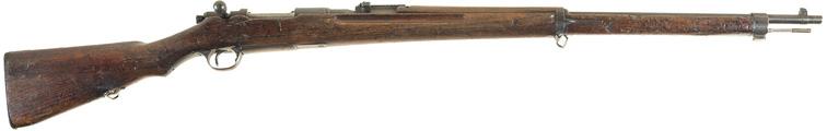 3атвор и предохранитель винтовки Арисака Тип 30, вид сверху