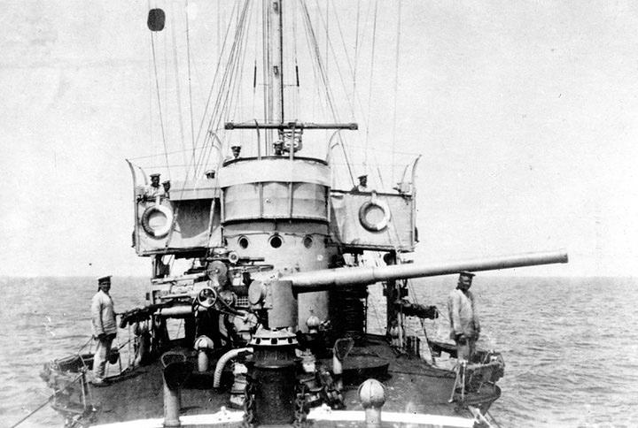 Четырехдюймовое корабельное орудие образца 1911 г.