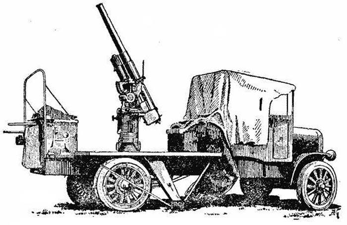 76-мм зенитная самоходная установка образца 1915 г. (обр. 1915/1928 гг.)