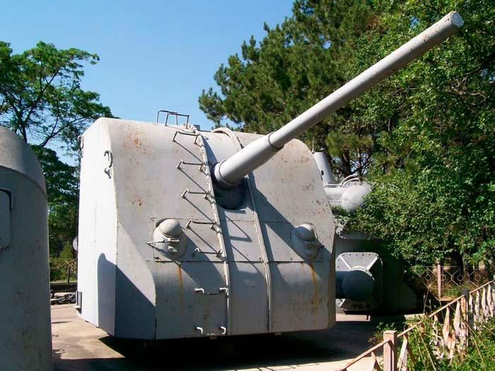100-мм корабельное орудие Б-34