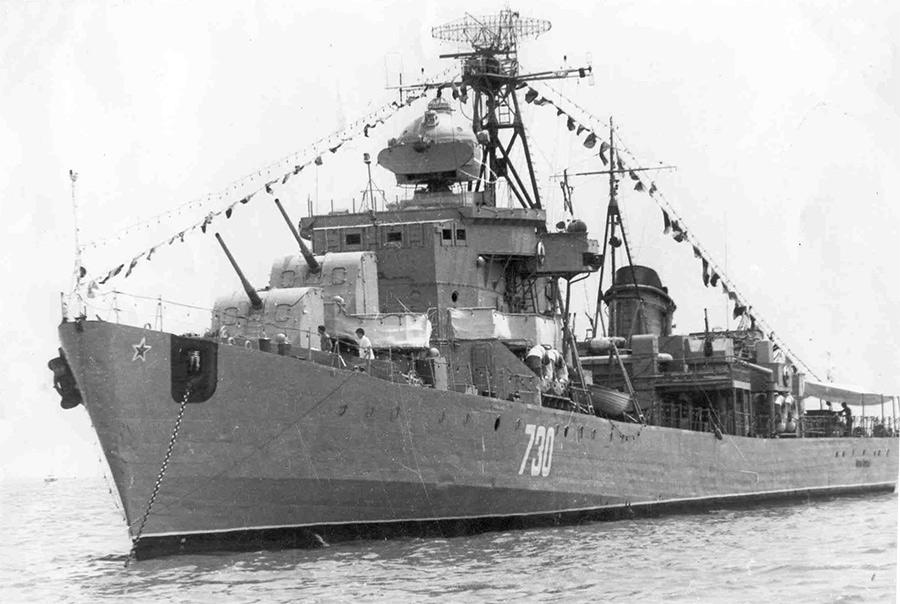100-мм орудия Б-34 - главный артиллерийский калибр сторожевых кораблей проекта 42