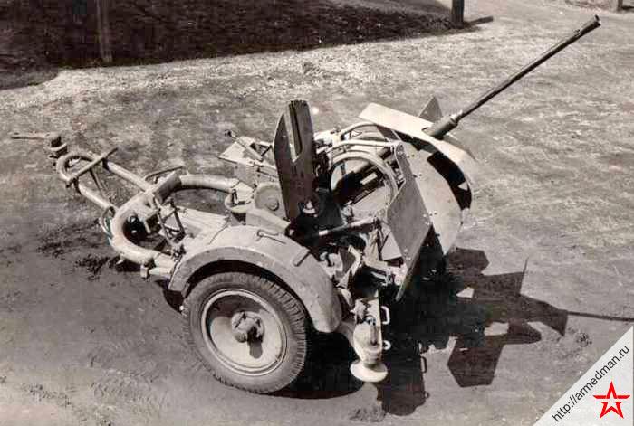 Немецкая 20-мм зенитная пушка FlaK 30/38 обр. 1930 г.