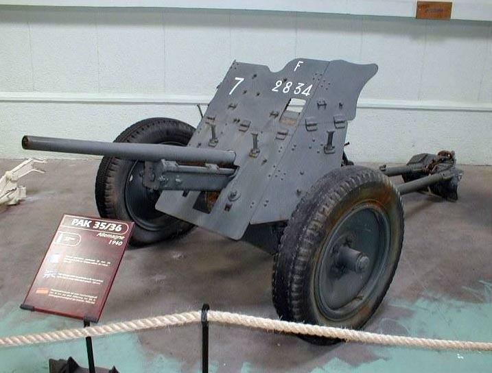Близнецы: 37-мм Pak 35/36 германская...
