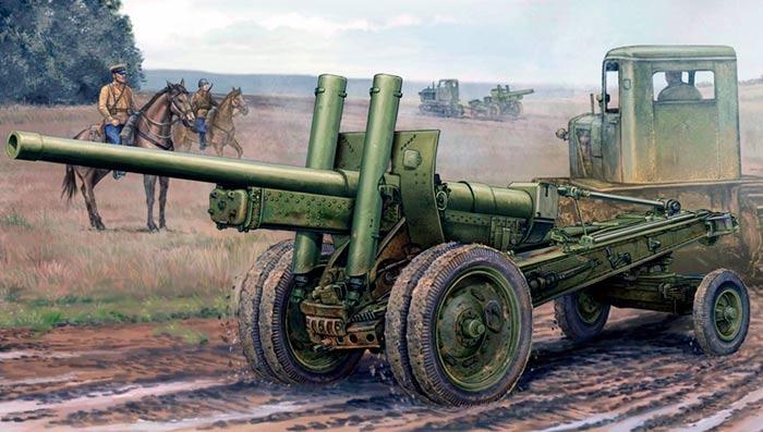 122-мм пушка образца 1931/37 г.г. (А-19)