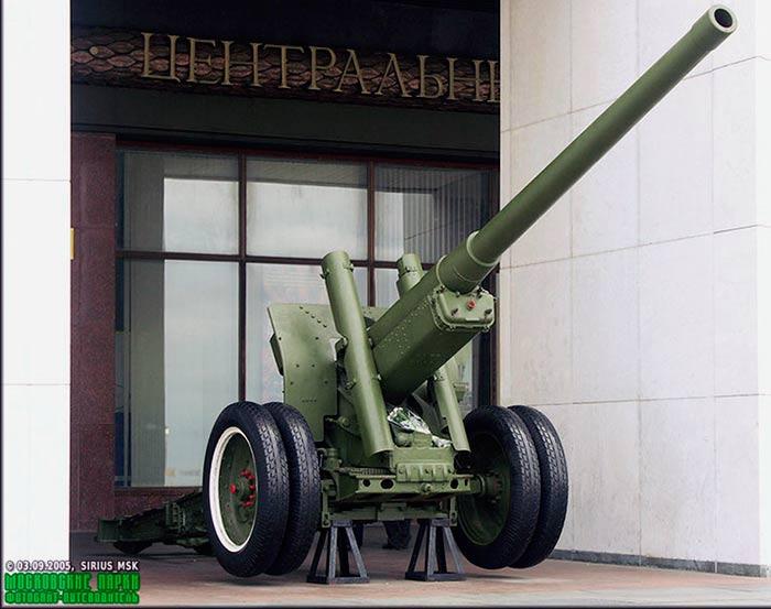 122-мм корпусная пушка образца 1931/37 г.г. (А-19)