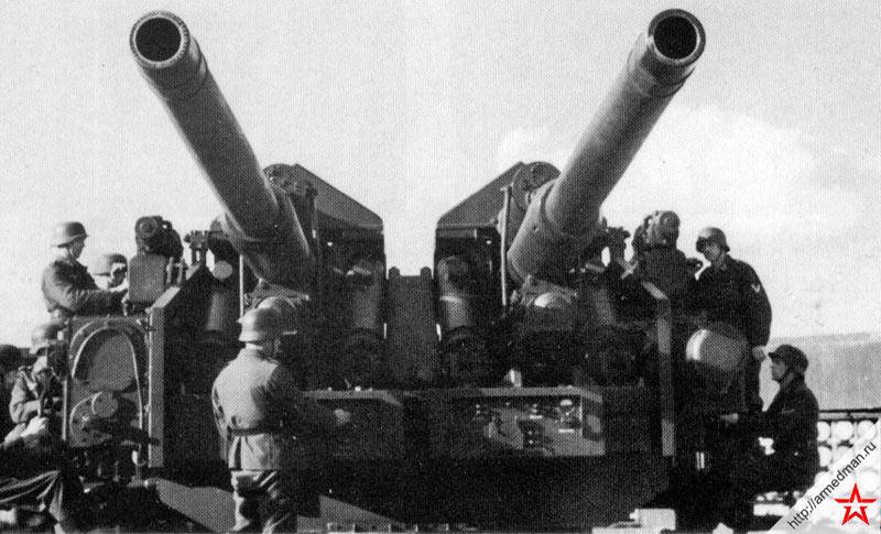 128-мм зенитная пушка FlaK-40 обр. 1941 г. (Германия)