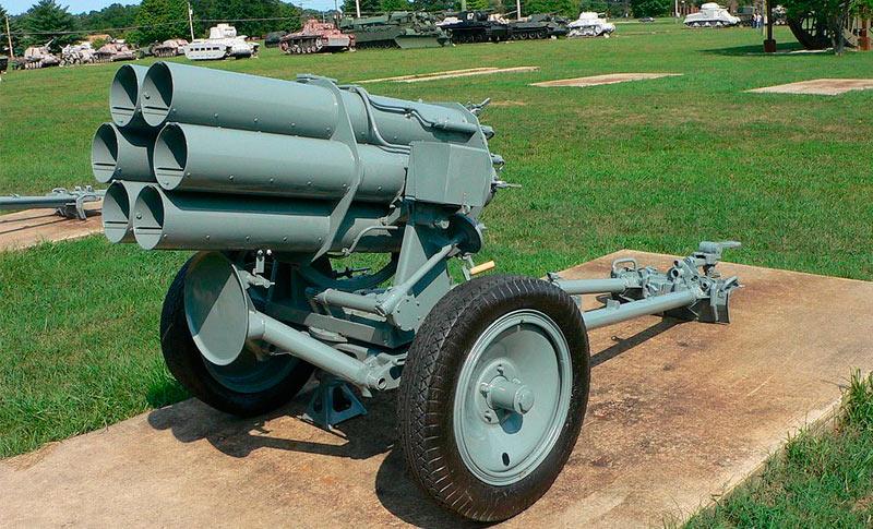 150-мм шестиствольный реактивный миномет Nb.W 41 обр. 1941 г. (Германия)