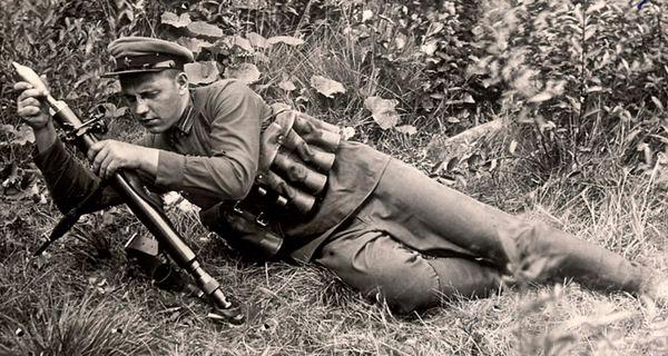 Стрельба из 50-мм ротного миномета образца 1938/1940 г.г.