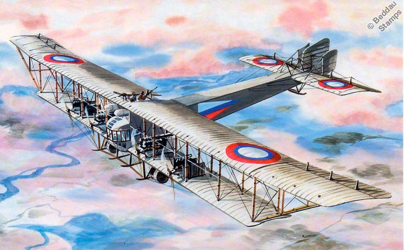 бомбардировщик С-22 «Илья Муромец», русский бомбардировщик первой мировой