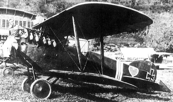 истребитель Феникс D.I времен первой мировой войны