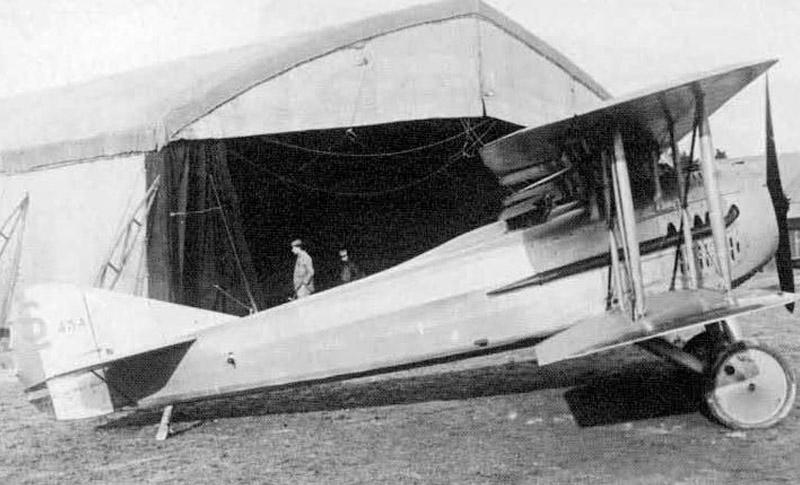 Истребитель SPAD S.12 (Франция)