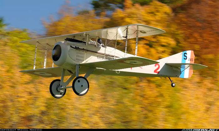 Истребитель SPAD S.7 (Франция)