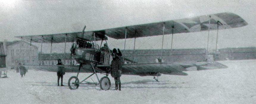 Немецкий многоцелевой самолет Альбатрос BII