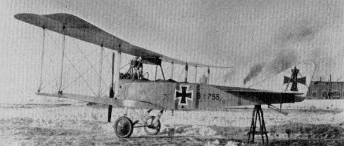 Многоцелевой самолет Альбатрос BI