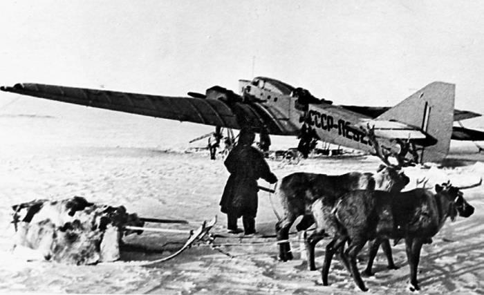Г-1 грузовые самолеты на базе ТБ-1 верой и правдой служили в гражданской авиации до конца великой отечественной войны