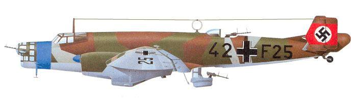 Бомбардировщик Юнкерс Ju-86, 'исходный вид'
