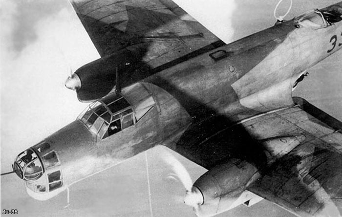 Бомбардировщик/Высотный разведчик Юнкерс Ju-86