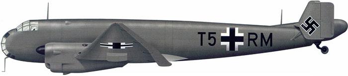 Высотный разведчик Ju-86P - контуры исходного варианта едва угадываются