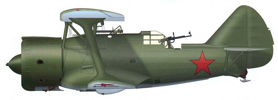 Советский двухместный истребитель ДИ-6