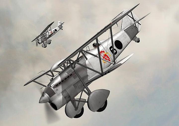 Итальянский истребитель ФИАТ CR-32 «Чирри»