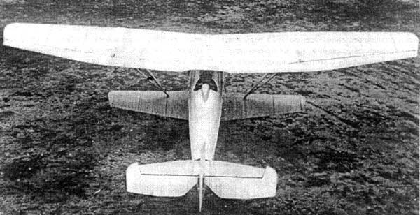 Как видно, нижнее крыло у И-4 значительно меньше верхнего