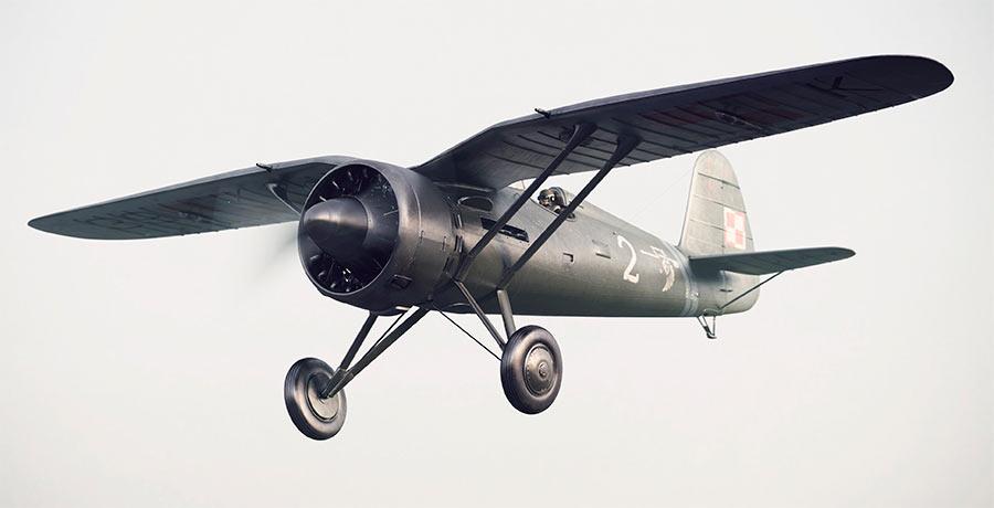 На мой взгляд истребитель P-11 - ещё и образец промышленного дизайна.