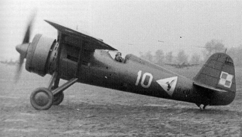 Польский истребитель PZL P-11