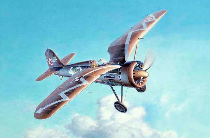 Истребитель PZL P-11 (Польша)
