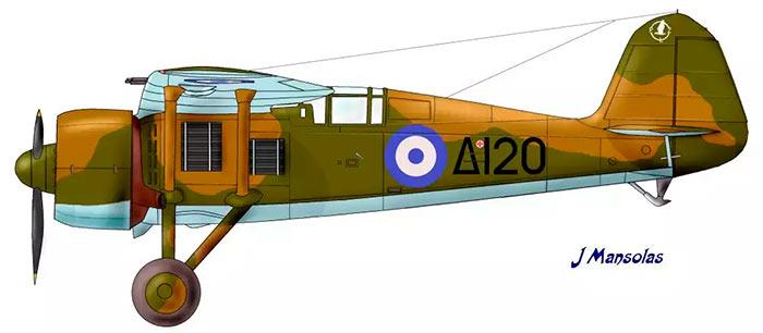 Польский истребитель PZL P-24
