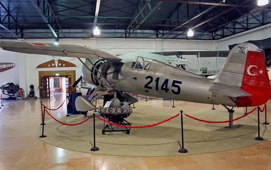 Истребитель PZL P-24 турецких ВВС