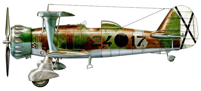 Пикирующий бомбардировщик Хеншель Hs.123 мало похож на эталон красоты