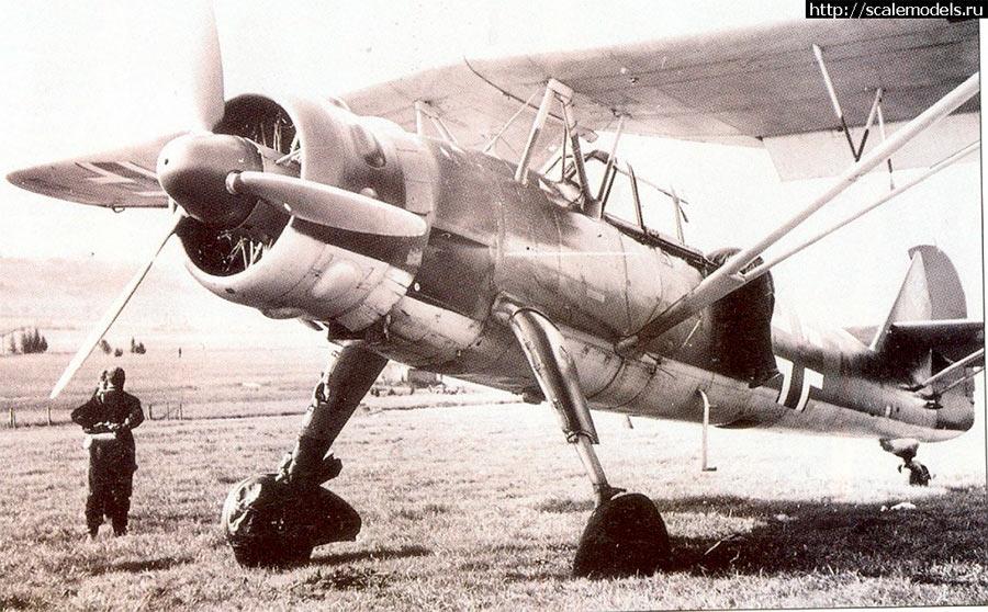 Разведывательный самолет «Хеншель-126»