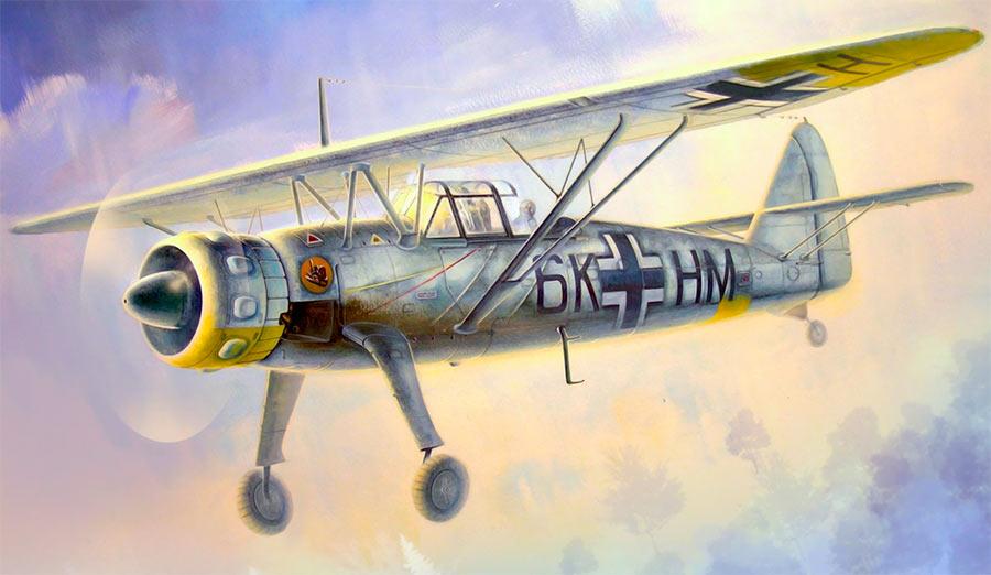 Разведывательный самолет Henschel Hs.126