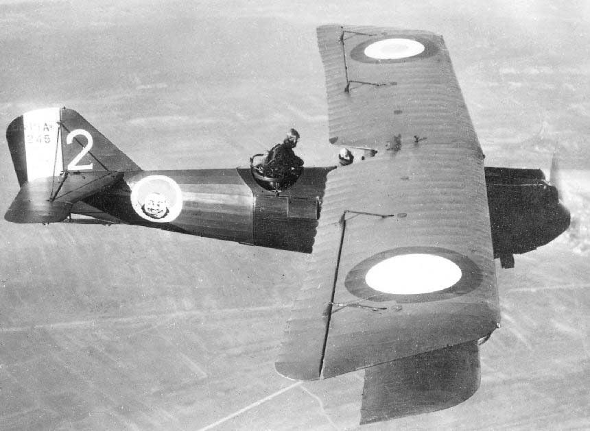 Французский разведывательный самолет «Breguet-19» в модификации TF «Super Bidon».