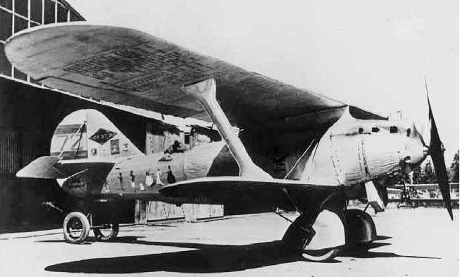 Французский разведывательный самолет «Breguet-19» в модификации TF «Super Bidon»