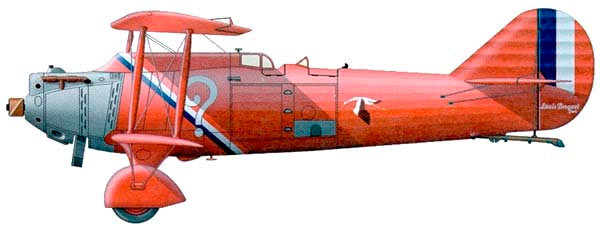 Тот же Br-19 TF «Super Bidon» в «рекордной» окраске