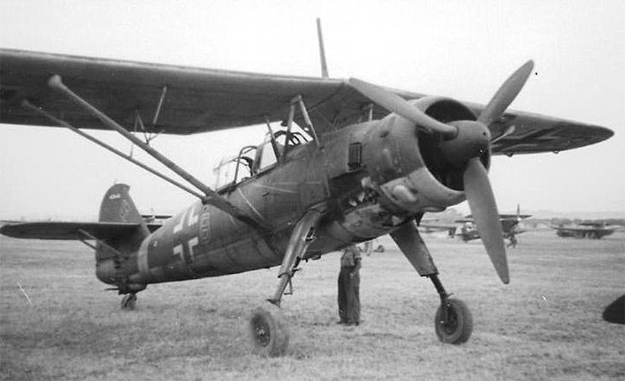 Самолет-разведчик Hs-126