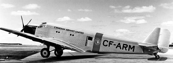 Однодвигательный Юнкерс-52 Канады