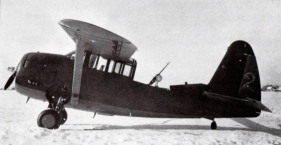 Советский O-52 «Оул» с кабиной 'по боевому'
